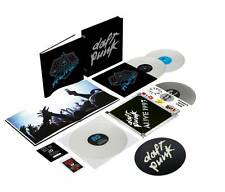 Daft Punk - Alive 1997 + Alive 2007 Boxset - 4LP Colored Vinyl, Digital, Slipmat