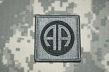 VELCRO ® Military Patch US Army 82nd Airborne Division ACU Authentic Perfect Con
