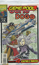 GENE POOL GENE DOGS #1( BAGGED WITH 4 GENE CARDS  ) MARVEL COMICS  VF-NM