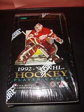 1992-93 Pinnacle Hockey Factory Sealed USA Unopened Box 36 Packs 16 Cards