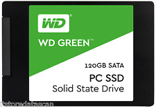 "WD 120GB Green SATA III 2.5"" Internal SSD WDS120G1G0A with 3 Years Warranty.."