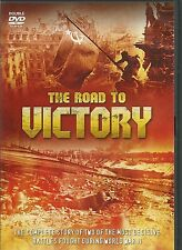 THE ROAD TO VICTORY - 2 DVD BOX SET - THE ROAD TO STALINGRAD & BERLIN