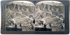 Keystone Stereoview of The GREAT WALL of CHINA from the 1930's T400 Set # 290