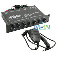 *NEW* WET SOUNDS WS 220 BT MARINE 4-ZONE LEVEL CONTROLLER w/ BLUETOOTH WS220BT