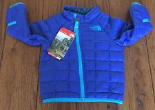 NWT The North Face Infant Boys Thermoball coat jacket blue 12 Months $80