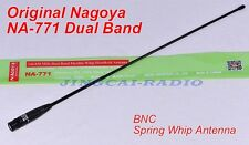 Original! Nagoya NA-771 Dual-Band Flexible Antenna BNC Yaesu ICOM Marantz Radio