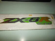 NOS Kawasaki 04 ZX636-B2 Ninja Mark Decal Green Right Lower Cowl I # 56052-0254