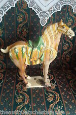 Tang Style terracota Chinese horse, gorgeous! look at the pictures, hole