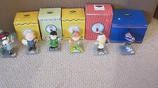 WESTLAND GIFTS PEANUTS CHARACTER LOT LUCY SNOOPY CHARLIE BROWN ETC MIB