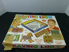 Vintage Weaving Loom Kit Lisbeth Whiting 1962 Original Instructions Collectible