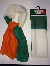Irish Flag Scarf, Great For Sports Fans, Unisex, St Patrick's Day Item