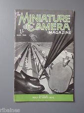 R&L Vintage Mag, The Miniature Camera March 1949, Homemade Rangefinder