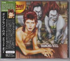 "CD DAVID BOWIE Diamond dogs JAPAN 1999 issue ""The David Bowie Series"" OBI"