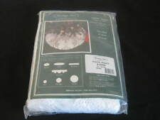"New Old Stock, Heritage Lace, Christmas, Alpine Angels, Tree Skirt, 50"", White"