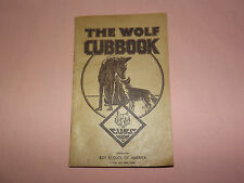 VINTAGE BSA BOY SCOUTS OF AMERICA 1943 WWII WOLF CUBBOOK CUBS USA BOOK