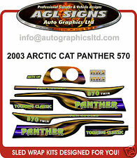 2003 ARCTIC CAT 570 PANTHER DECAL KIT  TOURING CLASSIC , reproductions