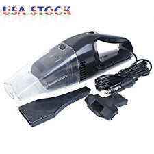 12V Portable Vacuum Wet&Dry Cleaner Handheld Mini Car Auto Van Truck Boat 100W