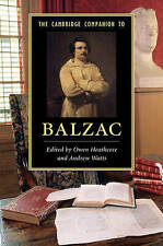 El compañero de Cambridge a Balzac por Cambridge University Press (tapa Dura, 2017)