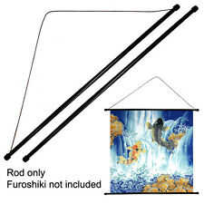 "Set of 2 PCS. 22.5"" Japanese Furoshiki Plastic Rod String Wall Hanging Hanger"