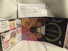 Too Faced The Little Black Book of Bronzers LE (2015 Release) BNIB Receipt Shown