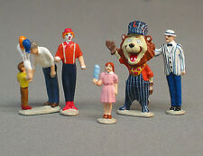 LIONEL CARNIVAL PEOPLE PACK figures O gauge circus train clown lion  6-24124
