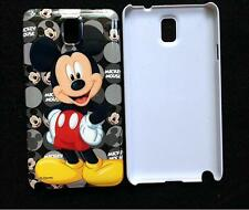 Disney Cute Mickey Mouse Hard Shell Back Case Cover For Samsung Galaxy NOTE 3