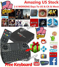 Pro S905X Smart TV BOX Android5.1 Lollipop Quad Core 8GB HDMI Box Keyboard 4K