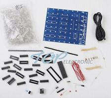 3D LightSquared DIY Kit 8x8x8 3mm LED Cube Green Ray LED