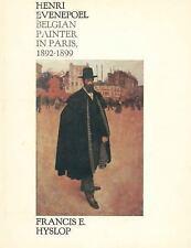 Henri Evenepoel: Belgian Painter in Paris, 1892-1899-ExLibrary