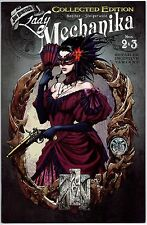 LADY MECHANIKA #2 & #3 COLLECTED INCENTIVE FIRST PRINT BENITEZ ASPEN COMICS NM