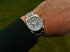 GENTS 1999 ROLEX EXPLORER REF 14270 WITH CHRONOMETER CERTIFICATE AND BOX