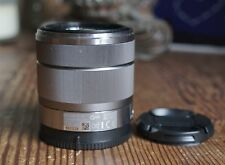 Silver Sony Alpha 18-55mm f/3.5-5.6 E Lens SEL1855, for NEX-5/5N/6/7