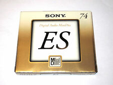 One (1) minidisc SONY ES MD-74 '1999 (new and sealed)