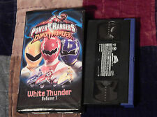 Power Rangers - Dino Thunder Vol. 3: White Thunder + Goldar's Vice-Ver (VHS x 2)