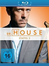 DR.HOUSE SEASON 2  Hugh Laurie, Lisa Edelstein 5 BLU-RAY NEU