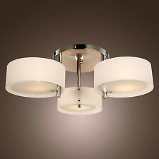 Acrylic Chandelier Ceiling Lamp Pendant Light Flush Mount Modern Contemporary