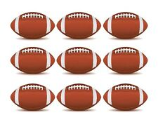 Football edible cake strips cake topper decorations