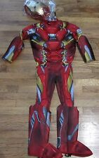 Captain America Civil War Iron Man LIGHTS UP! 3D Costume Marvel Rubies 17774 NEW