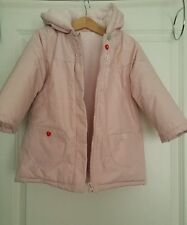 Baby Boop Padded Jacket Coat Girls 24 months Winter Warm Fleece LIGHT PINK