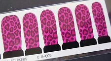 Nail Art Stunning Nail Wraps Leopard Check Full Cover Polish Water Decal Sticker