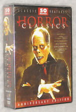 Horror Classici 50 Film Bela Lugosi Lon Chaney Prezzo Del Vincent DVD Cofanetto