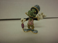 DISNEY ARRIBAS BROS JIMINY CRICKET SWAROVSKI CRYSTALS JEWELED B514