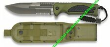 Cuchillo RUI Aluminio Color Verde.  Derechos de autor  Diseado en Esp 32016