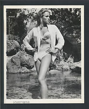 URSULA ANDRESS CHEESECAKE - 1962 DR. NO - FIRST JAMES BOND 007 FILM - KEY BOOK