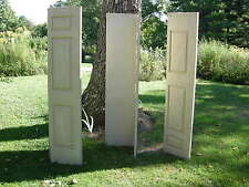 Set of 3 pair folding 3 Panel  INTERIOR Closet Doors 80 x 18, 6 doors total $150