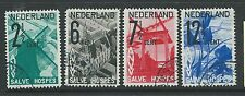 NETHERLANDS 1932 TOURIST PROPAGANDA SET FINE USED NICE!