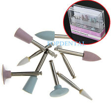Dental Diamond Burs Cups Composite Polishing Kit RA0309 for Low Speed Handpiece