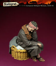 STALINGRAD MINIATURES,1:35, Refugee Woman, S-3146