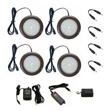 Lightkiwi® 3.5 inch Warm White Modular LED Puck Lights Standard Kit (4 Pack)