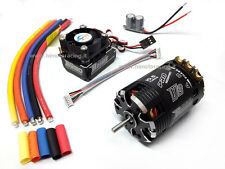 COMBO ROCKET BRUSHLESS SENSORI MOTORE 540 10.5T + REGOLATORE 120A TURBO MODIFIED
